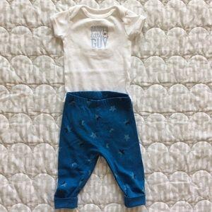 $1 Add-on items ~ LIKE-NEW Just One U Boy bodysuit